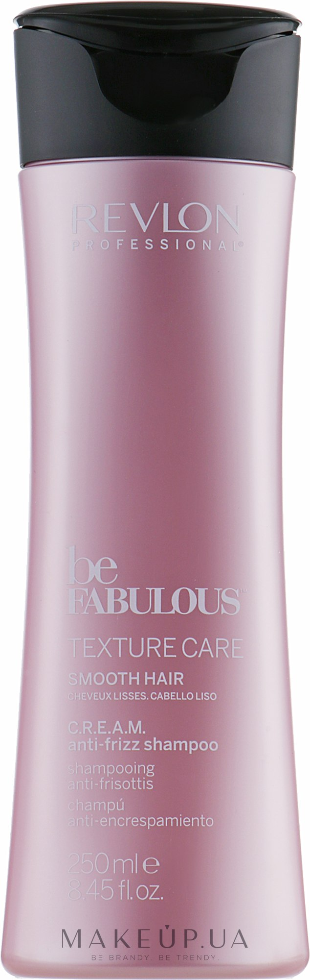 Разглаживающий шампунь для волос - Revlon Professional Be Fabulous Texture Care Smooth Shampoo — фото 250ml