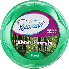 """Духи, Парфюмерия, косметика Гелевый освежитель воздуха """"Зеленый лес"""" - Kolorado Deo Fresh Deluxe"""