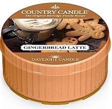 Духи, Парфюмерия, косметика Чайная свеча - Country Candle Gingerbread Latte Daylight