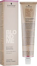 Духи, Парфюмерия, косметика Средство для тонирования волос - Schwarzkopf Professional BlondMe Blonde Toning