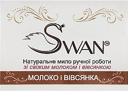 """Духи, Парфюмерия, косметика Натуральное мыло ручной работы """"Молоко и овсянка"""" - Swan"""