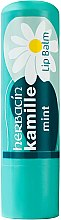 "Духи, Парфюмерия, косметика Бальзам для губ ""Мята"" - Herbacin Classic Kamille Lip Balm Mint"