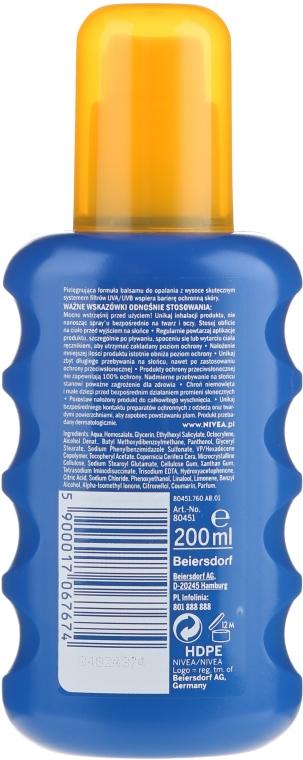 Сонцезахисний спрей SPF20 - Nivea Sun Care Spray Solare Inratante — фото N6