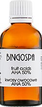 Духи, Парфюмерия, косметика Масло на фруктовых кислотах AHA 50% - BingoSpa Fruit Acid AHA 50%