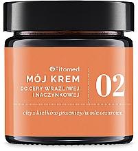 Духи, Парфюмерия, косметика Крем для сухой кожи с расширенными капиллярами №2 - Fitomed My Cream No.2