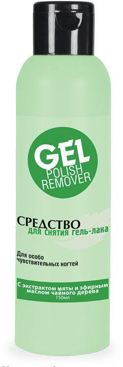 Средство для снятия гель-лака с экстрактом мяты и эфирным маслом чайного дерева - Zinger Gel Polish Remover