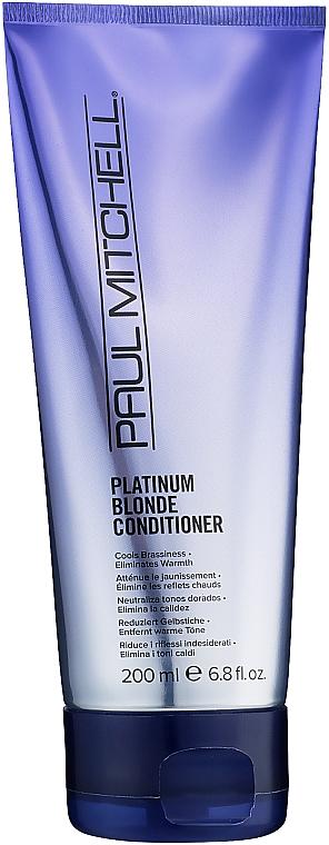 Кондиционер для светлых, седых и осветленных волос - Paul Mitchell Platinum Blonde Conditioner