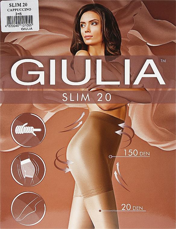 """Колготки для женщин """"Slim"""" 20 den, cappuccino - Giulia"""