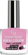 Духи, Парфюмерия, косметика Лак для ногтей - Golden Rose Rich Color