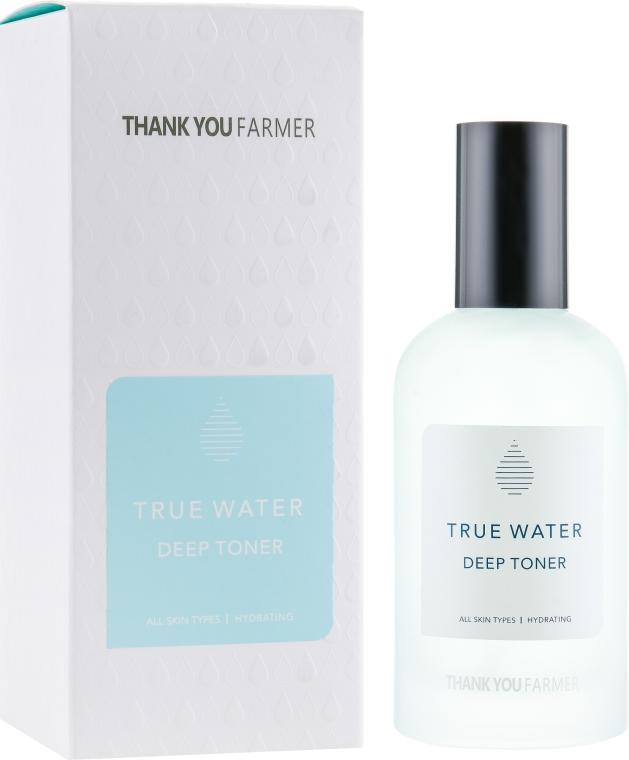 Глубоко увлажняющий тонер для лица - Thank You Farmer True Water Tooner