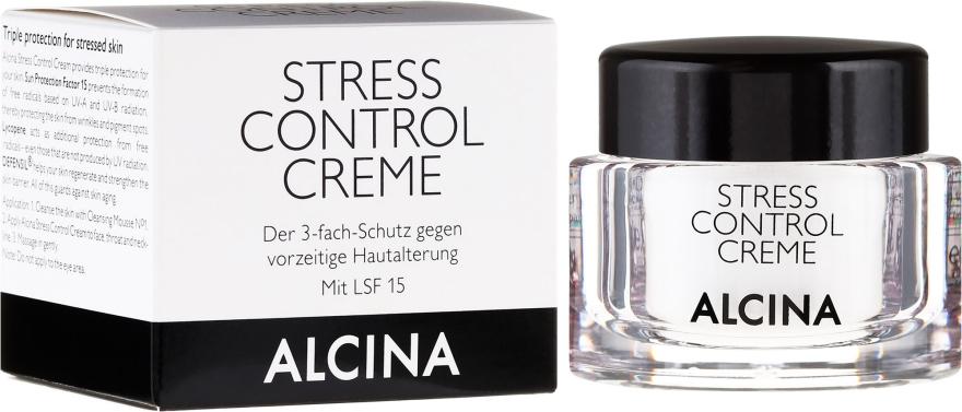 Крем для защиты кожи лица - Alcina Stress Control Creme