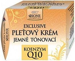 Духи, Парфюмерия, косметика Крем для лица тонирующий - Bione Cosmetics Exclusive Gentle Toning Facial Cream With Argan Oil Q10