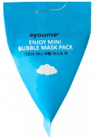 Пузырьковая очищающая маска для лица - Ayoume Enjoy Mini Bubble Mask Pack (пробник)