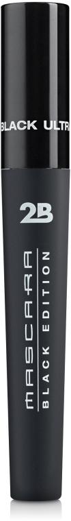 Тушь для ресниц - 2B Black Edition Ultra Black Mascara