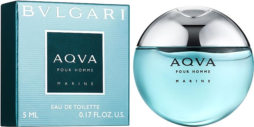 Bvlgari Aqva Pour Homme Marine - Туалетная вода (мини)