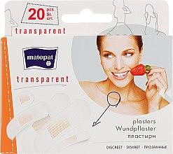 Парфумерія, косметика Медичний пластир Matopat Transparent - Matopat