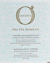 Духи, Парфюмерия, косметика Голубой обесцвечивающий порошок - Barex Italiana Olioseta del Maroco