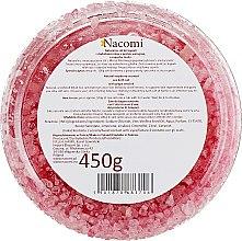 Соль мертвого моря для ванны с ароматом малины - Nacomi Sweet Raspberry Cupcake Bath Salt — фото N2