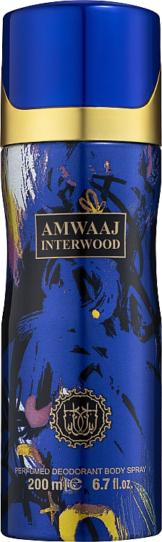 Fragrance World Amwaaj Interwood Deo - Дезодорант-спрей