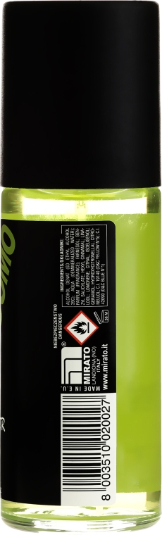 Дезодорант парфюмированный в стекле - Malizia Uomo Vetyver  — фото N2