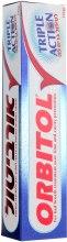 "Зубная паста ""Тройное действие"" - Orbitol Triple Action Toothpaste — фото N2"