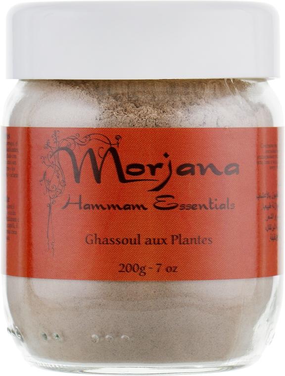 """Мыло минеральное """"Гассуль"""" в эконом-упаковке - Morjana Hammam Essentials Refill Plant Ghassoul"""
