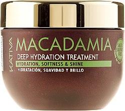 Духи, Парфюмерия, косметика Интенсивно увлажняющая маска для нормальных и поврежденных волос - Kativa Macadamia Deep Hydrating Treatment