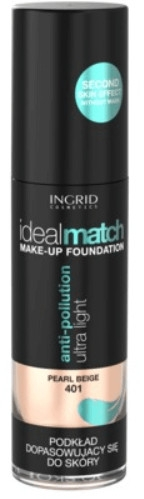 Тональный крем - Ingrid Cosmetics Ideal Match Anti-pollution Ultra Light