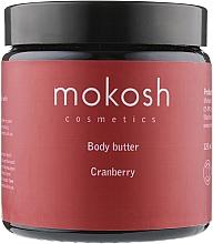 """Духи, Парфюмерия, косметика Масло для тела """"Клюква"""" - Mokosh Cosmetics Body Butter Cranberry"""