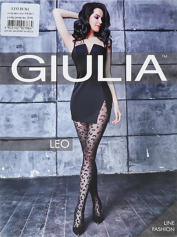 """Колготки для женщин """"Leo"""" 20 Den, nero - Giulia"""
