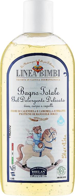 Эко-шампунь и жидкость для ванны для детей - Helan Bimbi Bio Total Bath