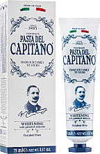 "Духи, Парфюмерия, косметика Зубная паста ""Отбеливающая"" - Pasta Del Capitano Whitening Toothpaste"