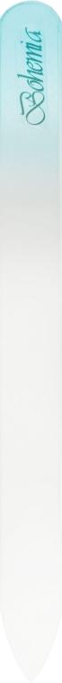Пилочка хрустальная для ногтей 08-1352, 135мм, голубая - SPL