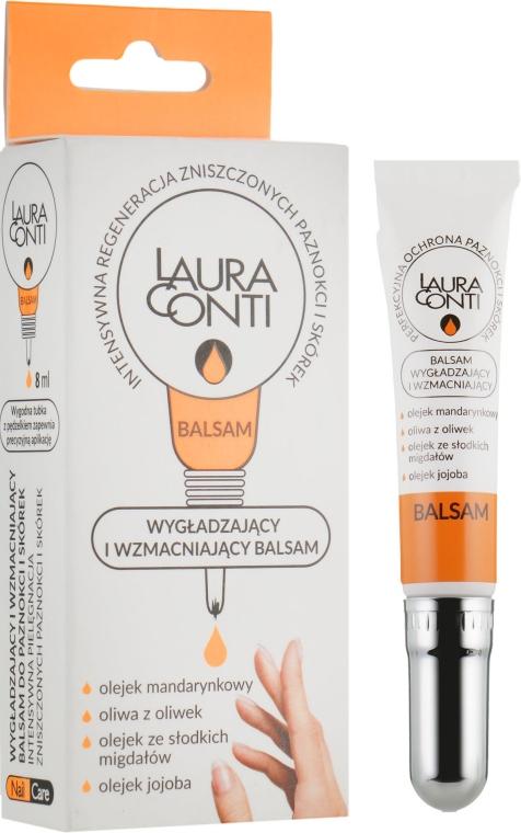 Увлажняющий и укрепляющий бальзам для кутикулы и ногтей - Laura Contі Balm