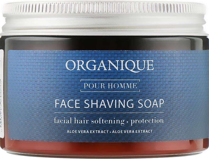 Мыло для бритья - Organique Naturals Pour Homme Face Shaving Soap
