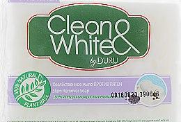 "Хозяйственное мыло ""Против пятен"" - Clean&White By Duru Stain Remover — фото N3"