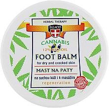 Духи, Парфюмерия, косметика Массажный конопляный бальзам на травах для пяток - Palacio Cannabis Vaseline Ointment For Heels