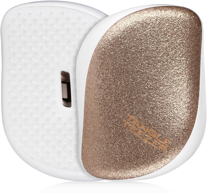 Компактная щетка для волос - Tangle Teezer Compact Styler Glitter Gold