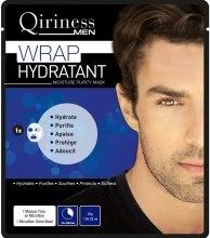 Духи, Парфюмерия, косметика Увлажняющая, очищающая маска для мужчин - Qiriness Wrap Hydratant Moisture Purity Mask