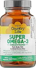 Духи, Парфюмерия, косметика Супер омега 3 - Country Life Super Omega-3