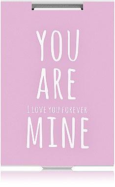 "Зеркало прямоугольное ""You are mine"", розовое - Rapira"
