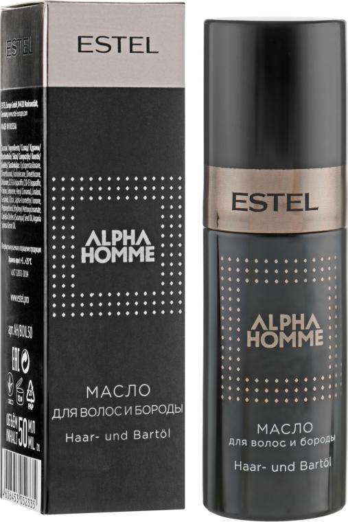 Масло для волос и бороды - Estel Professional Alpha Homme Pro