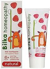 Духи, Парфюмерия, косметика Гомеопатическая детская зубная паста - Bilka Homeopathy 6+ Kids Toothpaste