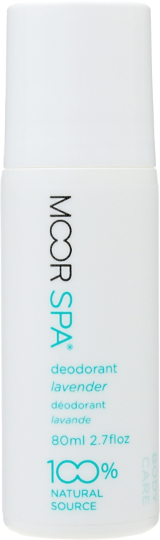 Натуральный дезодорант-антиперспирант с ароматом лаванды - Moor Spa
