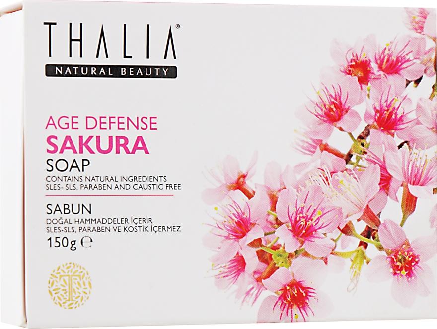 "Натуральное мыло ""Антивозрастное. Сакура"" - Thalia Anti-Aging Sakura Soap"