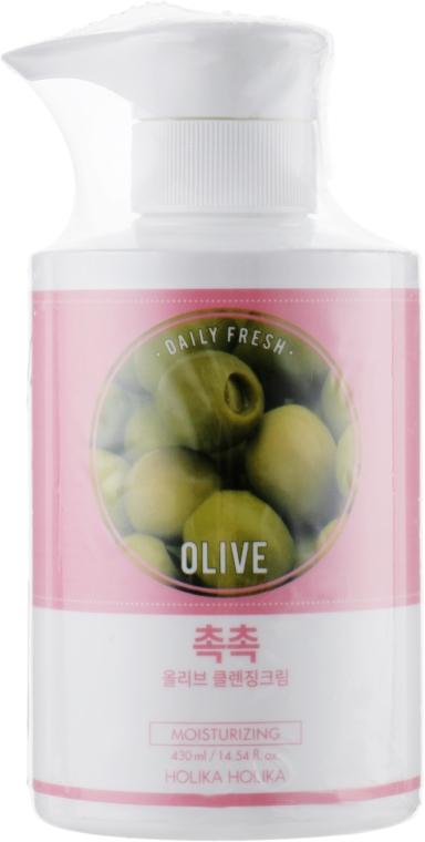 Очищающий крем с экстрактом оливы - Holika Holika Daily Fresh Olive Cleansing Cream