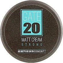 Духи, Парфюмерия, косметика Матовый крем сильной фиксации - Emmebi Italia Gate 20 Matt Cream Strong