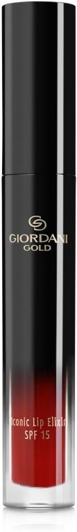 Жидкая губная помада-эликсир - Oriflame Giordani Gold Iconic Elixir SPF 15