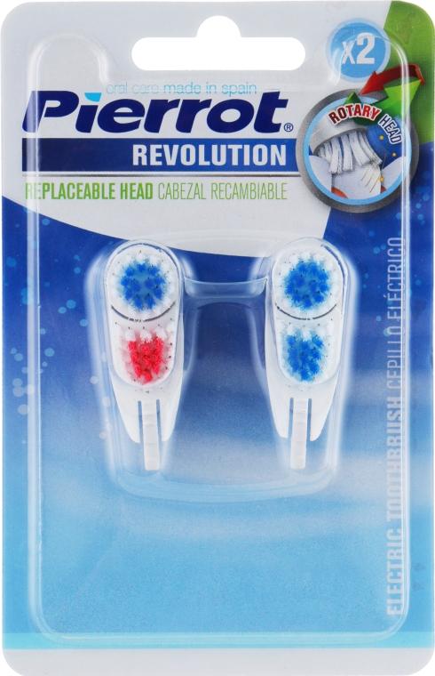 """Сменная насадка к зубной щетке """"Революция"""", красно-синяя - Pierrot Revolution"""