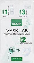 Парфумерія, косметика Маска «Алое вера» - Klapp Mask Lab Aloe Vera Moisturizing Mask